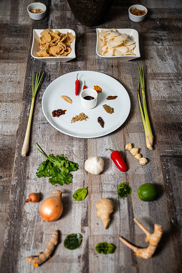 indonesian cooking workshop, cooking class and lessons ingredients