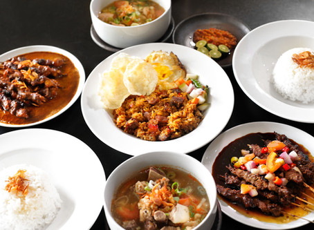 Flavor balance in Indonesian cuisine