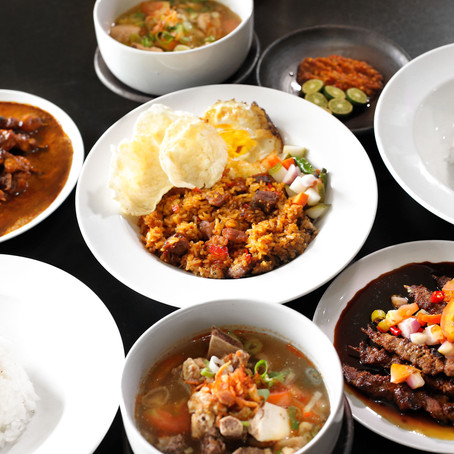 Flavor balance in Indonesian cuisine