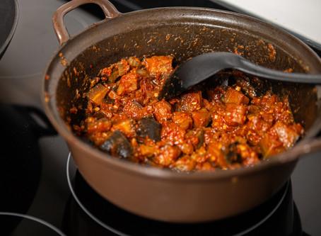 Terong Balado (Indonesian sweet & spicy eggplant in tomato sauce) Recipe