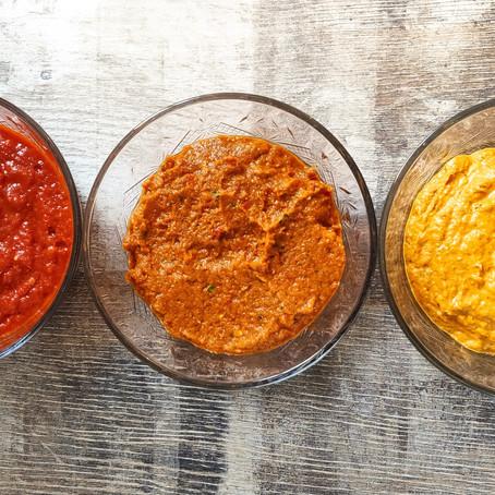 Indonesian spice pastes (bumbu)