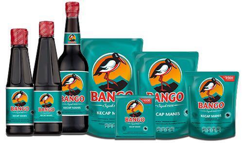 Sweet soy sauce (kecap manis) from Bango brand