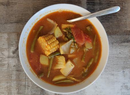 Sayur Asem (Indonesian vegetable tamarind soup) Recipe