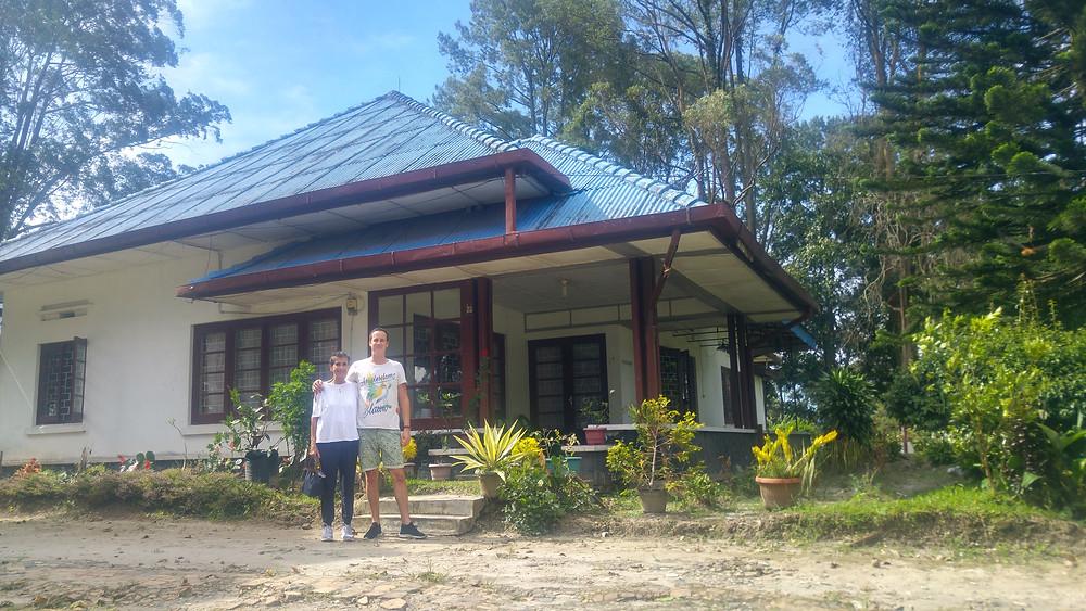 Former colonial tea planter house in Sidamanik near Pematangsiantar, Sumatra, Indonesia