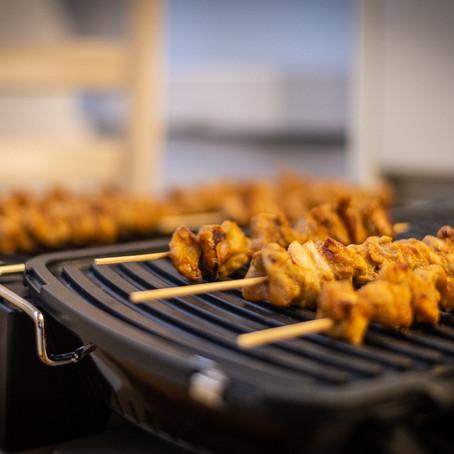 Sate Ayam (Indonesian chicken satay skewers) Recipe