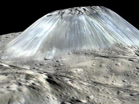 Le plus gros astéroïde de notre système solaire est recouvert de volcans de glace !!