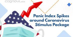 Panic Index Spikes around Coronavirus Stimulus Package