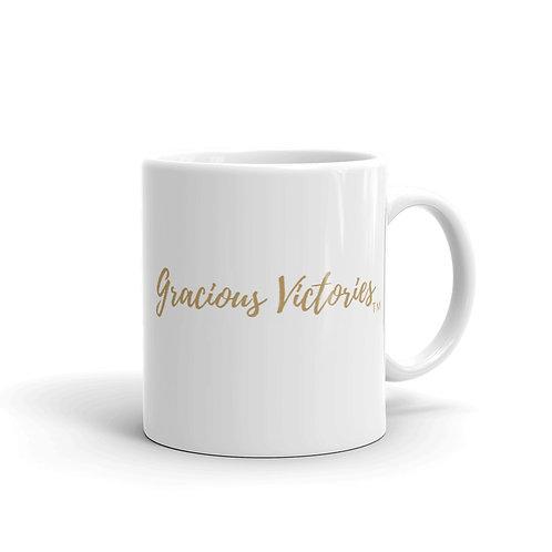 Gracious Victories Gold Mug