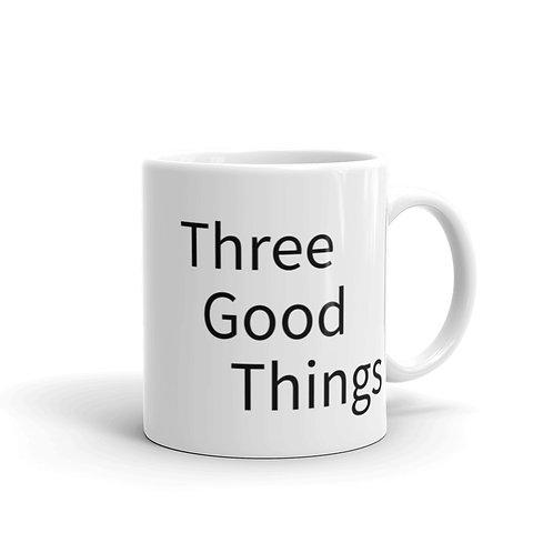 Three Good Things Solid Mug