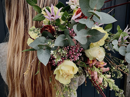 enchanting untamed bouquet