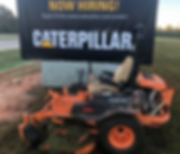 cat hodges, caterpillar, now hiring, landscaping, lawn care, turf care, grass cutting, greenwod sc, 29649