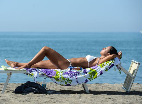 In The Summer Time When The Weather Is ... Hot ... Protect Your Skin !