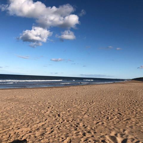beaches of northumberland