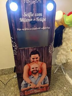 selfie totem noivos2