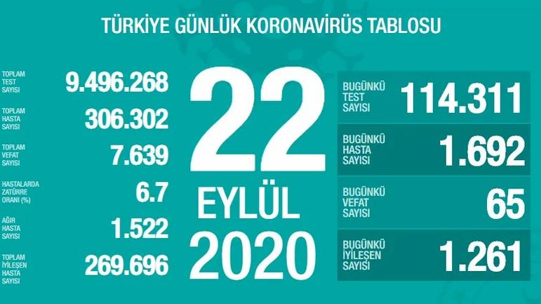 Koronavirüs'te bugün | Türkiye'deki vaka sayılarında son durumlar