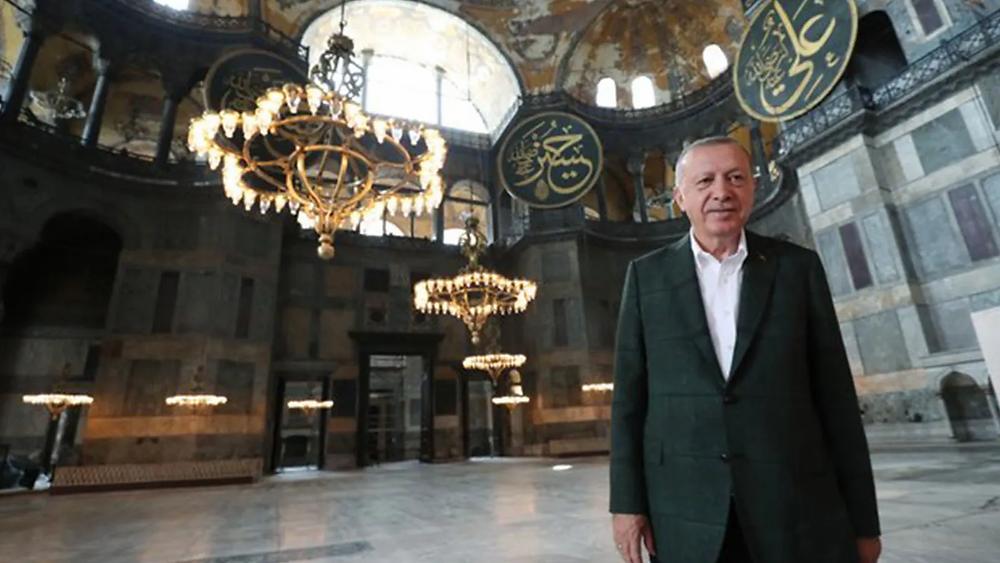 erdogan-ayasofyada