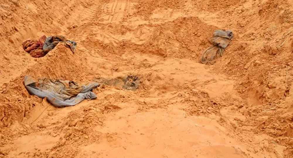 Libya'da toplu mezarlar