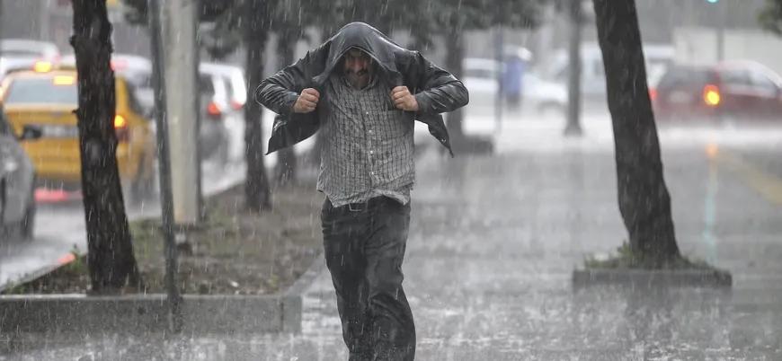 kuvvetli yağış
