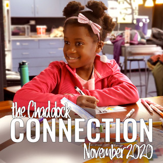 Covver of Chaddock Connection November 2020