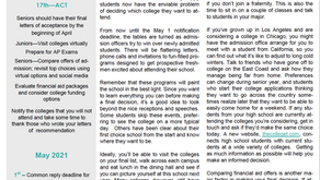 April 2021 College Newsletter