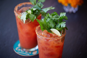 Our infamous Bloody Marys