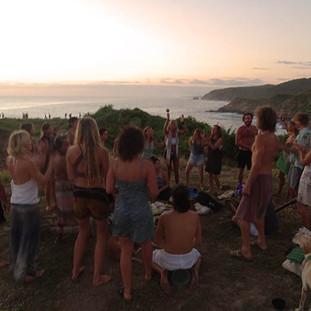 Celebrating life at Punta Cometa