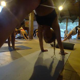 Hatha Yoga practice