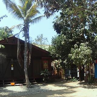 Our yoga hall in Comunidad Om Shanti