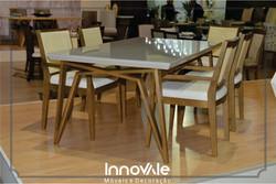 Sala de Jantar com 6 cad Design