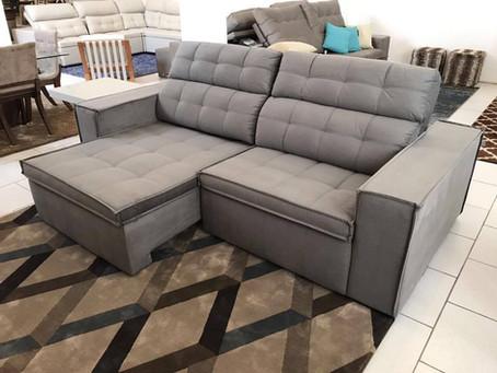 Como escolher um sofá retrátil e reclinável para a sala