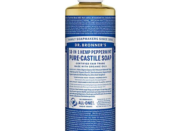 Castille Soap, Peppermint 4oz