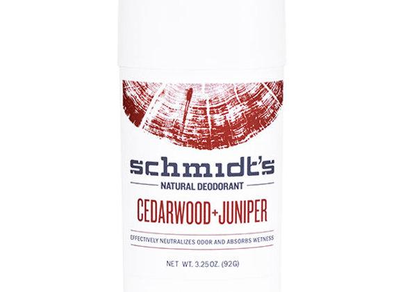 Cedarwood Juniper Deodorant