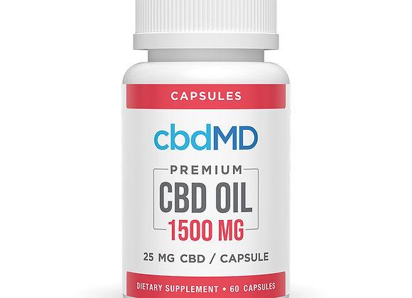 CBD Capsules 1500mg, 60ct