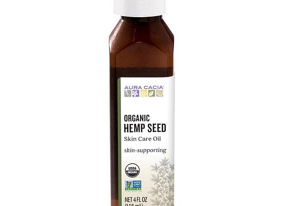 Hemp Seed Oil, 4oz- skin care