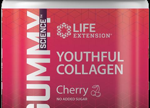 Youthful Collagen, cherry gummies, 80ct