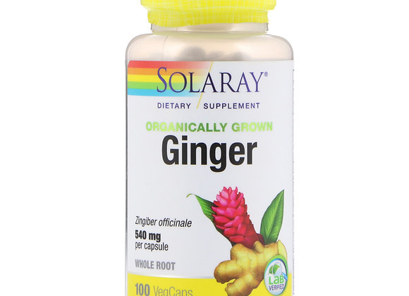 Ginger whole root 540mg, 100ct