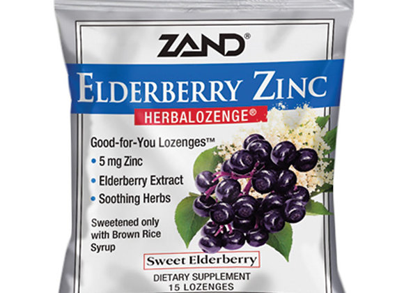 Elderberry Zinc lozenges, 15ct