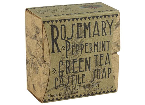 Rosemary Peppermint Green Tea BarSoap
