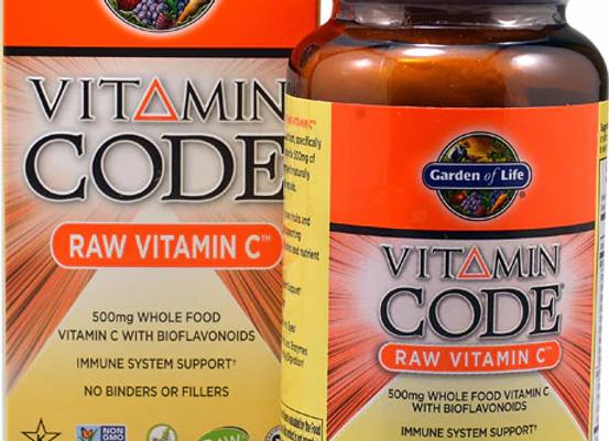Raw Vitamin C 120ct