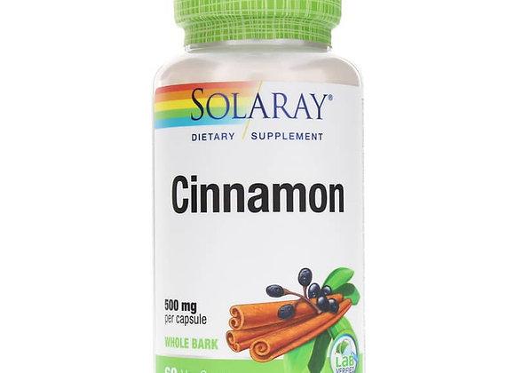 Cinnamon 500mg, 60ct
