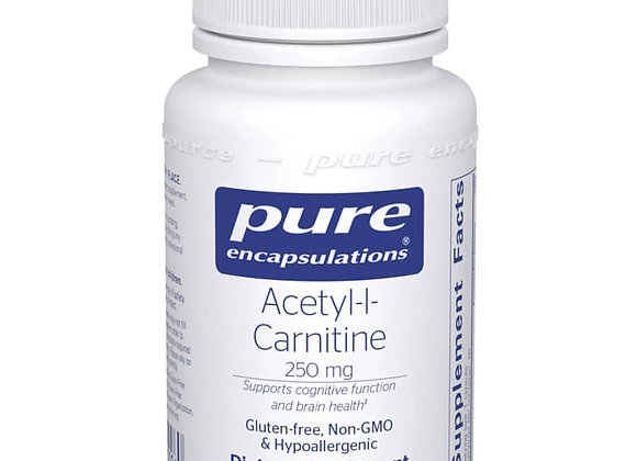 Acetyl-l-Carnitine 250mg, 60ct