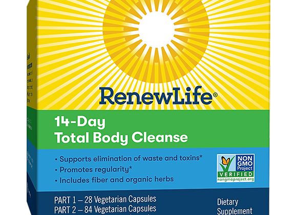 14 Day Total Body Cleanse