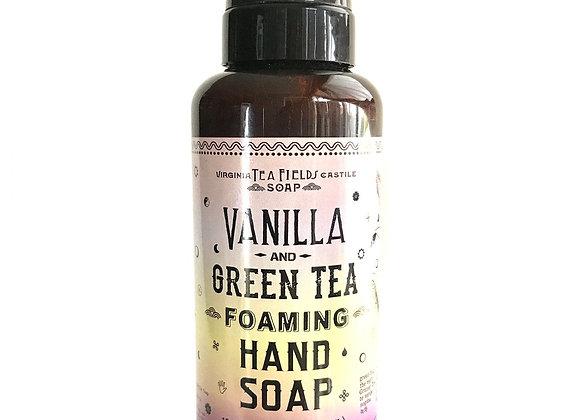 Vanilla & Green Tea Foaming Hand Soap