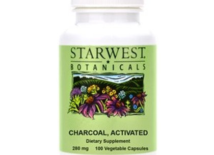 Activated Charcoal Capsules, 100ct