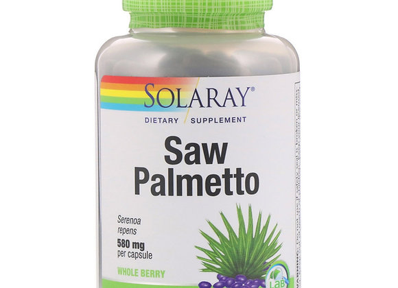 Saw Palmetto 580mg, 100ct