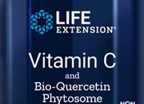 Vitamin C and Bio- Quercetin Phytosome 60ct
