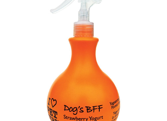 Dog Detangling Spray, Strawberry Yogurt, 15.2oz
