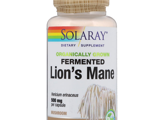 Fermented Lion's Mane 500mg, 60ct