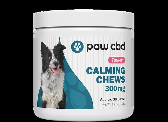 CBD Dog Calming Soft Chews, 300mg 30ct Turkey flavor