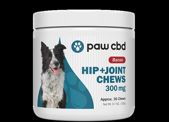 CBD Dog Hip & Joint 300mg 30ct Bacon